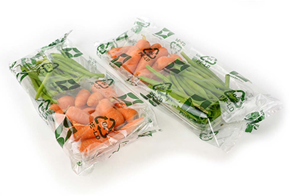 PlastoSac Recyclable Clear Film Packaging